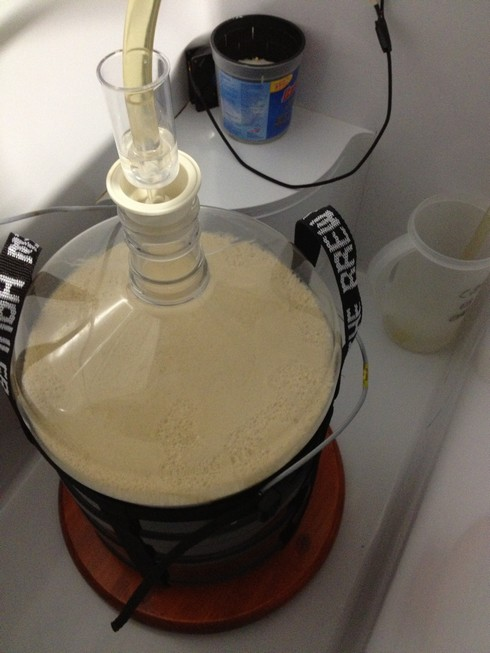 Using a larger blow-off tube on all batches now.