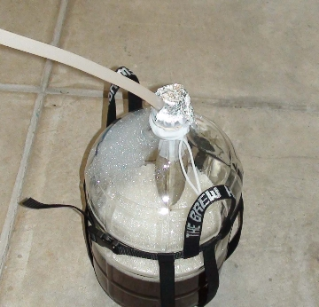 Transfer to carboy